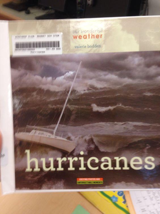 Hurricanes. Winthrop