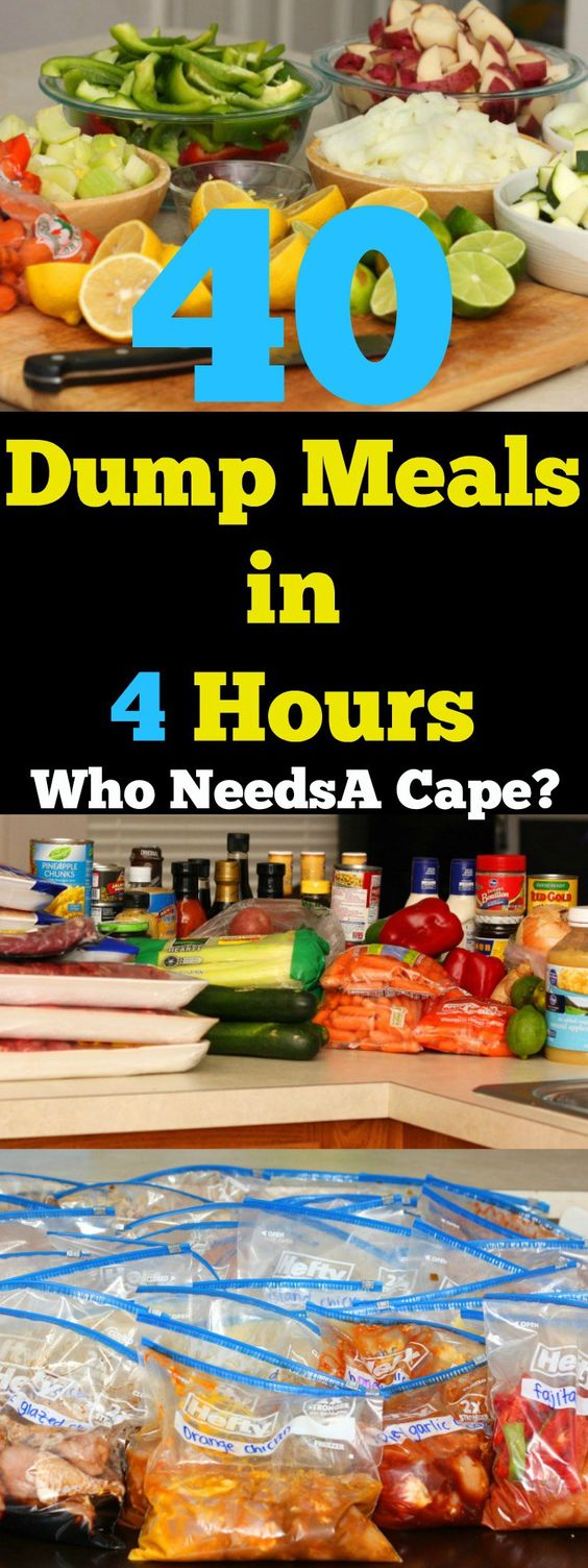 40 Meals In 4 Hours Crockpot Slow Who Needs A Cape | Autos Post