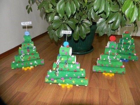 겨울 크리스마스 휴지심으로 만들어 볼까요 네이버 블로그 크리스마스 공예 유치원 크리스마스 활동 크리스마스 트리