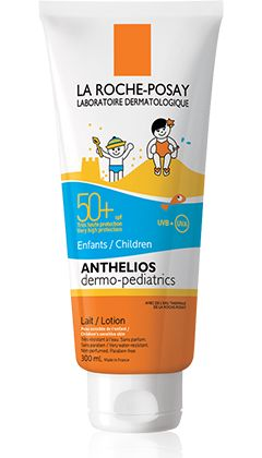 Anthelios Dermo-Pediatrics SPF 50+ Leche packshot from Anthelios, by La Roche-Posay