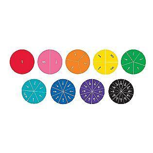 Circle Fractions | Classroom Manipulatives | Pinterest | Fractions ...