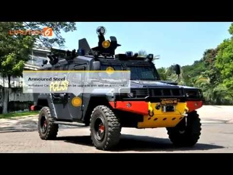 Komodo Tak Kalah Dengan Humvee Amerika Serikat Mobil Polisi Korps Marinir Militer