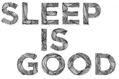 haha, who loves their sleep more than I do?