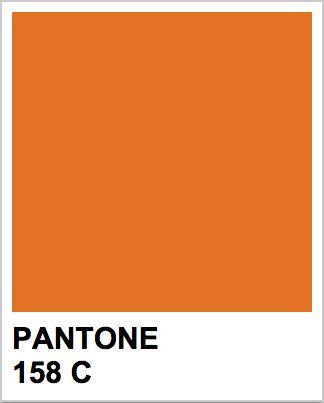 Pantone 158 C | Wedding Plans | Pinterest | Pantone