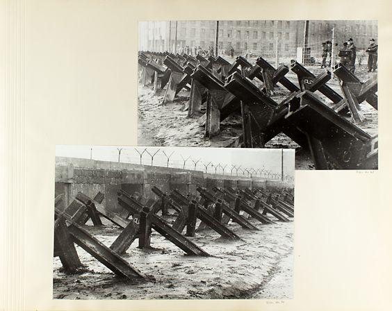 1607 Fotoalbum von Erich Mielke zum Mauerbau in Berlin