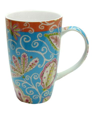 Take a look at this Madeline Mug by Dena - Set of Four by Zrike Brands on #zulily today!