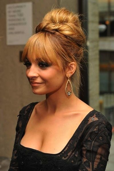 Outstanding Posts Updo And Nicole Richie On Pinterest Short Hairstyles For Black Women Fulllsitofus