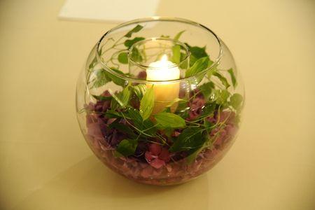 新郎新婦様からのメール 屋久島2 シェ松尾青山サロンさまへ : 一会 ウエディングの花
