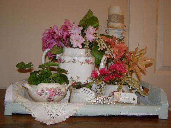 madre s giorno il brunch centrotavola, artigianato, idee sala da pranzo, i fiori, riproporre upcycling, arredamento vacanza stagionali
