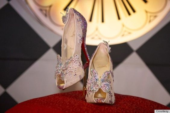 Christian Louboutin Cinderella Shoe Debuts, And It's... Interesting
