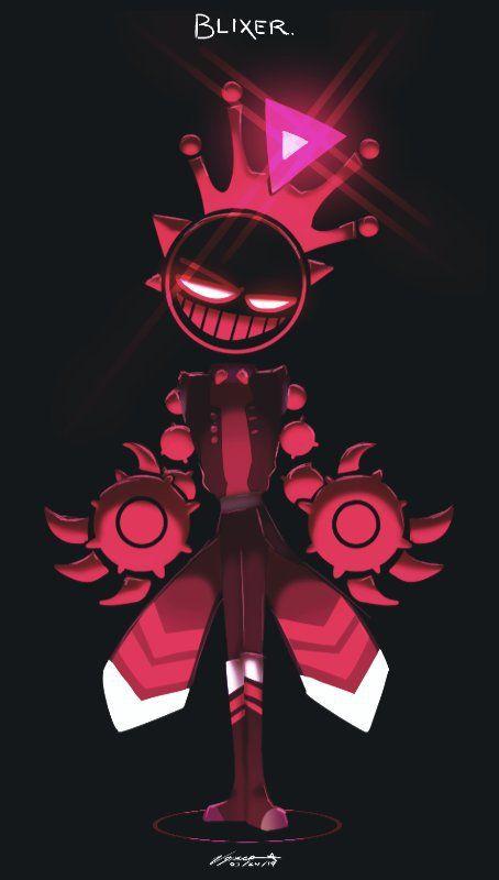 Blixer Just Shapes Beats Amino Beats Wallpaper Shapes Black Anime Characters