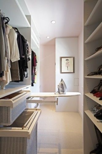 Closet Ironing Board: Closet Idea, Walk In Closet, Built In, Dream Closet, Closet Design, Master Closet, Dressing Room, Laundry Room