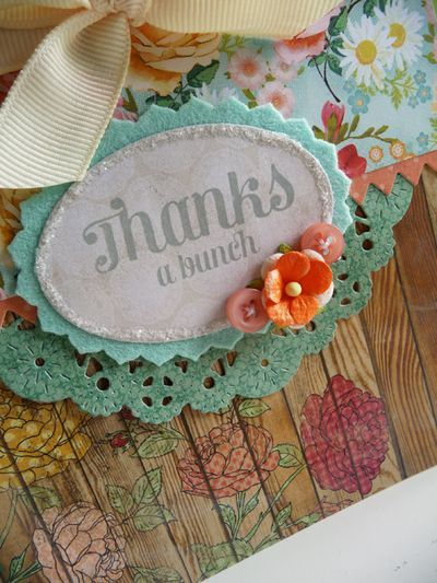 Thanks a bunch card made with MME Howdy Doody