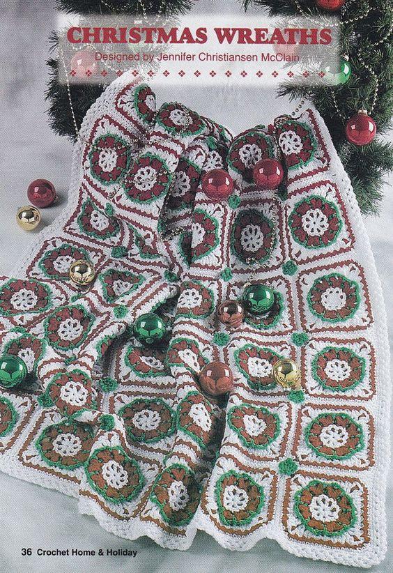 Christmas Afghan Crochet Patterns | crochet projects =] | Pinterest ...