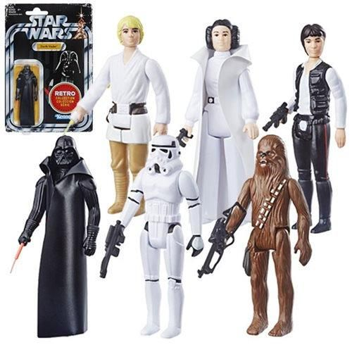 A New Hope Darth Vader Star Wars Retro Collection 2019 Episode IV