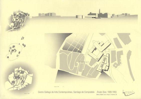 CGAC : Centro Galego de Arte Contemporánea, Santiago Compostela (1988-93)   Álvaro Siza