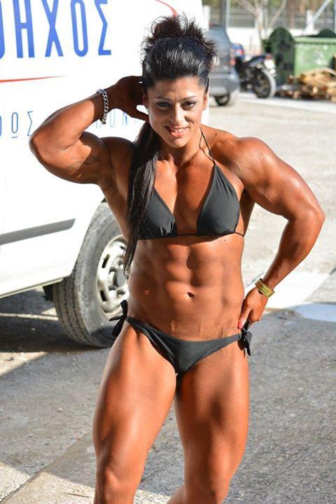 Basia Dimitraki | Bodybuilding | Pinterest