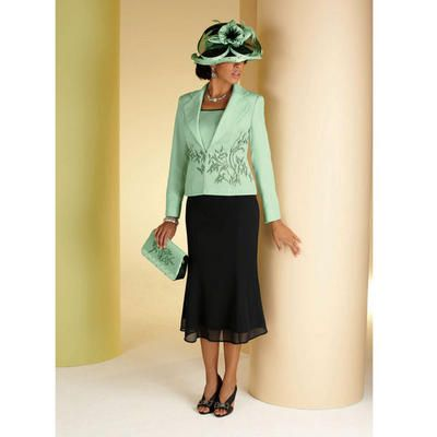 Hint of Mint Suit by Milano Couture - All Apparel - Apparel - Especially Yours