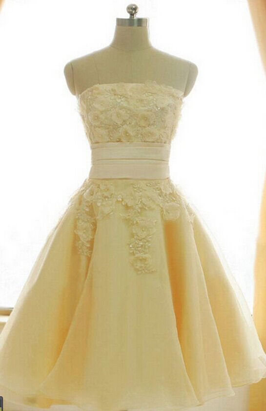 yellow dress 18 7326