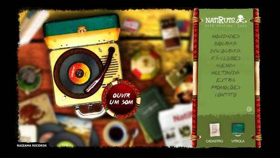 Site oficial do quinto álbum da banda Natiruts - Nossa Missão (2004).