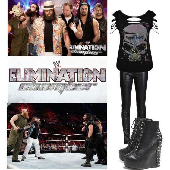 Ringside at Elimination Chamber 2014