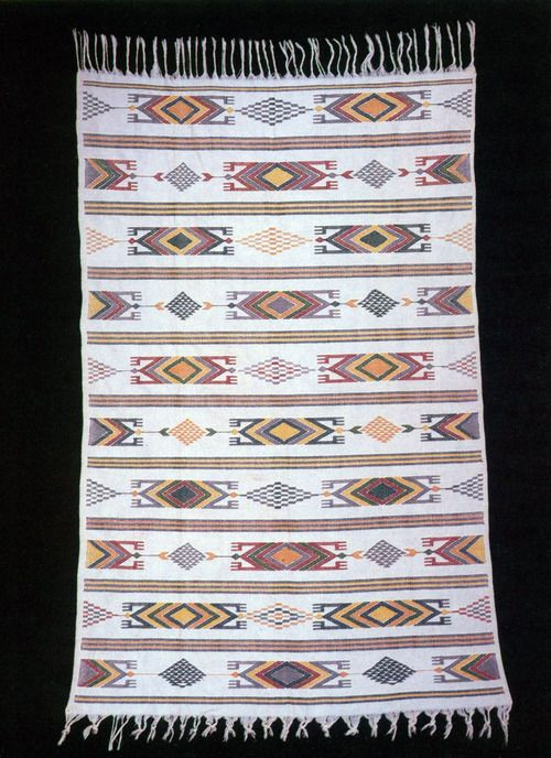 AKWETE [Igbo town famous for its venerable textile industry] CLOTH. COTTON, 178.5cm. COLLECTED IN THE LATE 1930s