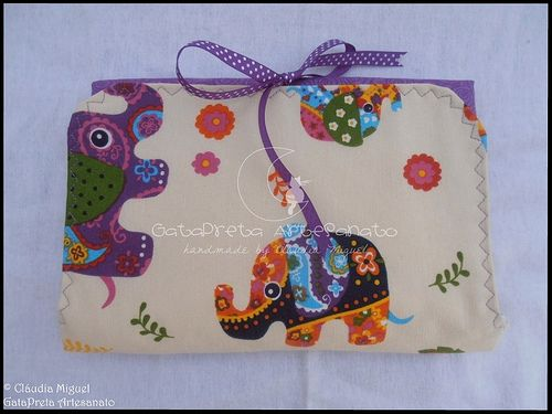 """Conjunto de maternidade """"Passeio com Elefantes"""""""
