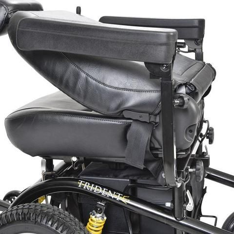 Drive Medical Trident Front Wheel Drive Power Chair Trident Folding Electric Wheelchair Powered Wheelchair