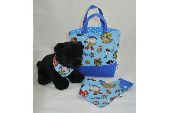 Kindertasche+mit+Halstuch+(3tlg.+Set)++von+Joylix+auf+DaWanda.com