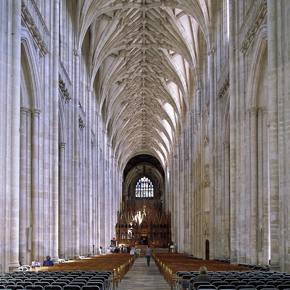 Winchester Gothic Cathedral England