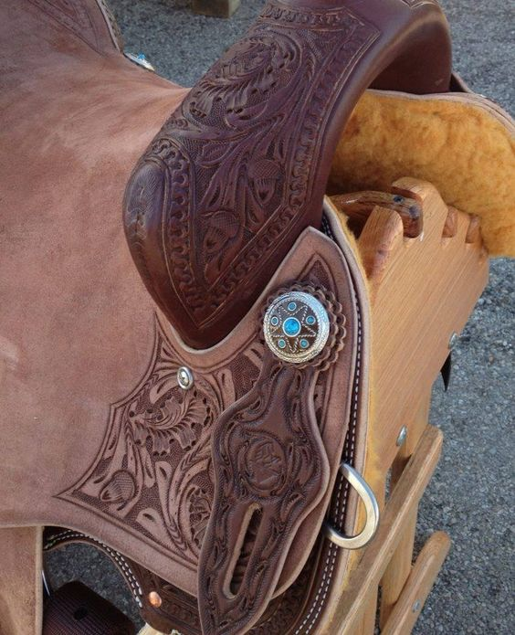 Vernon Purdy Saddle: Purdy Saddle, Vernon Purdy, Saddles