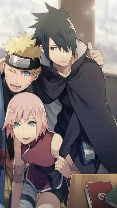 Naruto Sakura Dan Sasuke Dewasa Naruto Sasuke Sakura Naruto And Sasuke Naruto Cute