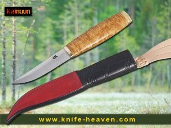 Tommi knife T20  These #knives are razor sharp, have long edge retention and are easy to #resharpen. The #puukko is an excellent tool that will last for decades. From #Finland.  www.knife-heaven-shop.com