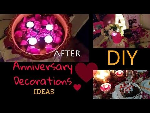 Video Diy Anniversary Decoration Ideas Our Third