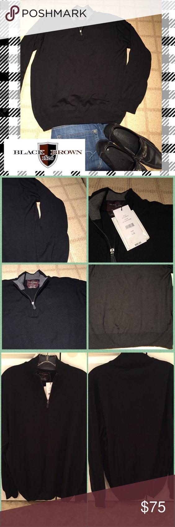 🎊HP 1/9/17🎊 Men's 1/4 zip merino wool sweater🎁 NWT | Merino ...