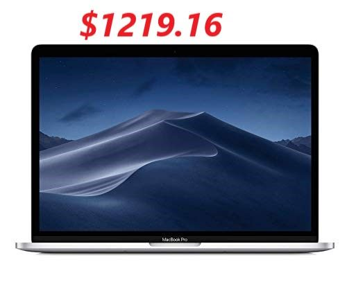 New Apple Macbook Pro 13 Inch Touch Bar 1 4ghz Quad Core Intel Core I5 8gb Ram 128gb Silver Macbook Pro Apple Macbook Pro Macbook