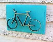 Metal Bike Wall Decor Iron Bicycle