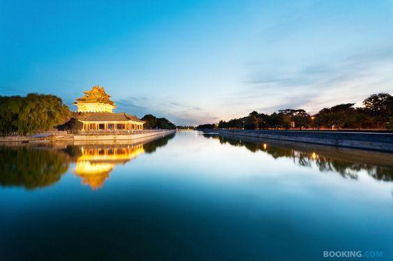 Complete calm... amazing snap of the Forbidden City, Beijing