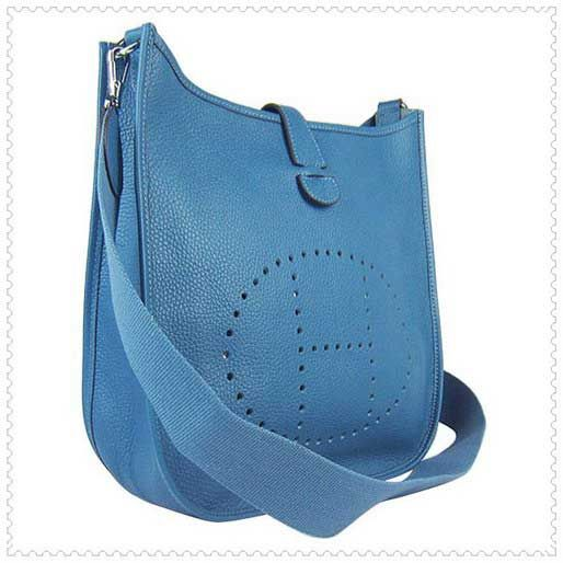 hermes Evelyne III medium blue jean