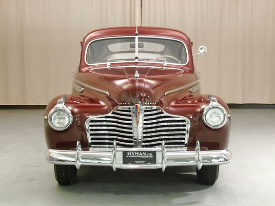 1941 Buick Special Front View