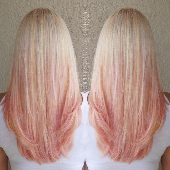 """""""Strawberry Peach Sherbet  