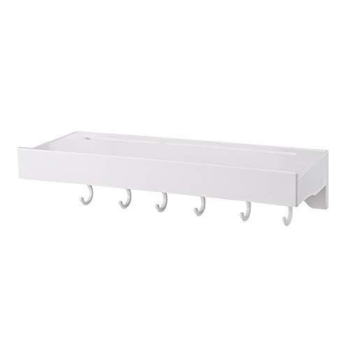 Lifxx Hanging Storage Bulkhead Plastic Bathroom Shower Shelf With