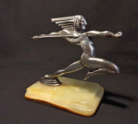 art deco hood ornament re pin brought to you by agents of carinsurance at houseofinsurance in. Black Bedroom Furniture Sets. Home Design Ideas