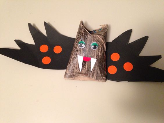 Murciélago Halloween. Ludoteca 2015