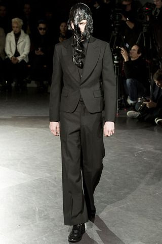Comme des Garçons Fall 2014 Menswear Collection Slideshow on Style.com
