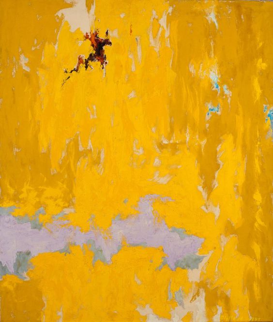 Clyfford Still (1904 – 1980) was an American painter, and one of the leading figures of Abstract Expressionism.: