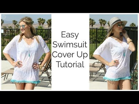 Easy Swimsuit Cover Up Tutorial |