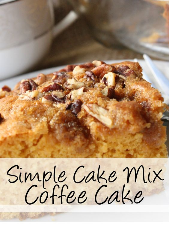 cake fabulous. Like the best, most moist coffee cake you may have ever ...
