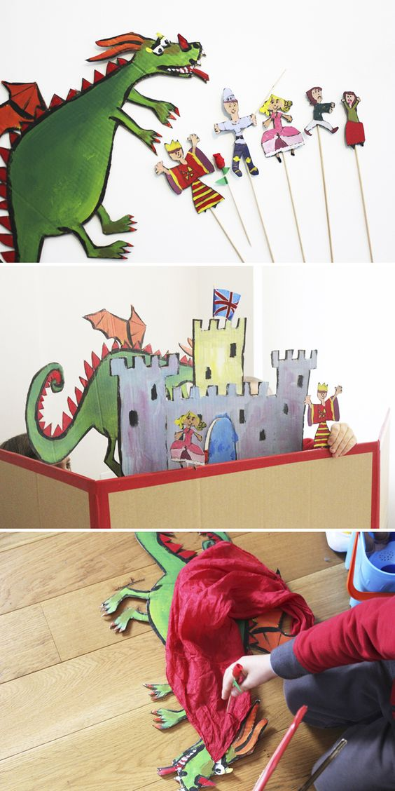 Sant Jordi theatre - mama recicla