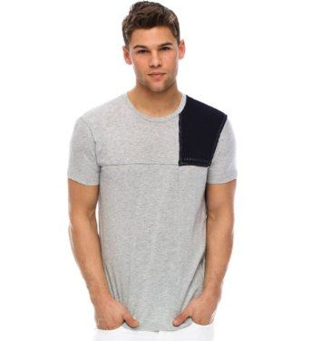 $38.00 for this Armani Exchange Pieced T-shirt. Lower price available on select options. Click on pic for more info...